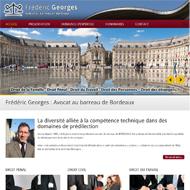 Site Web Maître Frédéric Georges