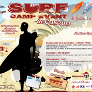 Site Web Surf Camp Event