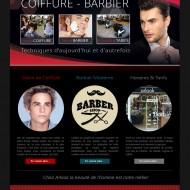 Site web Arlook coiffeur barbier
