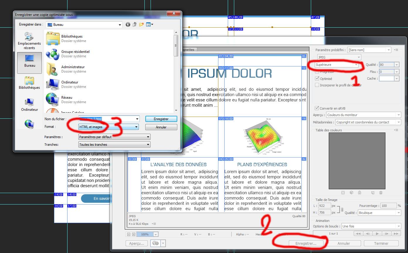 creer un email html enregistrer pour le web